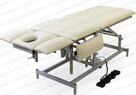 Массажный стол Профи 7 с двумя электроприводами